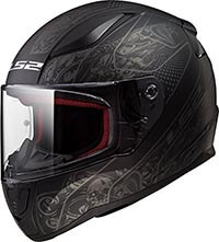 LS2 Helmet Rapid Crypt Graphic Coolest Motorcycle Helmets